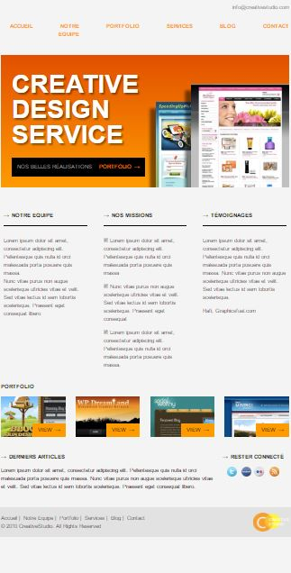 site prototype integré par laurent boucher