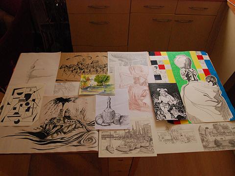 dessins de Laurent Boucher