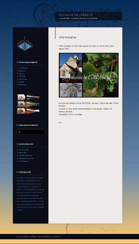 site de vinsfontaine.fr