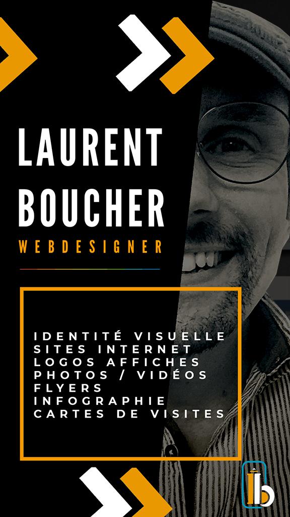 Laurent Boucher Webdesigner publicité
